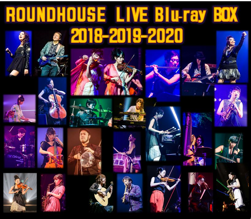 ROUND HOUSE / ROUNDHOUSE LIVE@2018-2020   LIVE DVD BOX